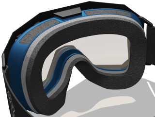goggle types of rigidity