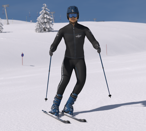 How to Parallel Turn - Online Ski Lessons - Mechanics of Skiing