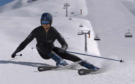How To Carve Online Ski Lessons Mechanics Of Skiing