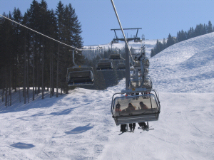 Getting On and Off of Chair Lifts - Learning to Ski - Mechanics of ...