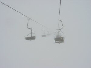 whiteout skiing
